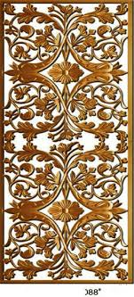 Carved Wood Decorative Panels