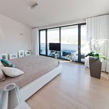 Small Beautiful Bedrooms Beautiful Bedroom Decpration At The Modern Residence With Concrete