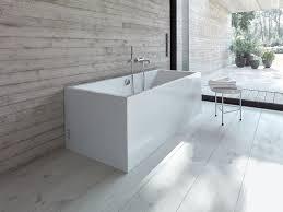 rectangular acrylic bathtub vero air bathtub by duravit