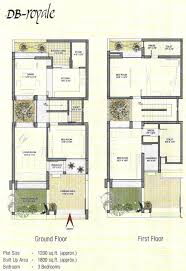 indian house plan for 1350 sq ft home