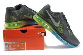 nike running shoes 2014 men black. nike air max 2014 mens black green running shoes men e