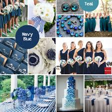 Fall Color Palette - Navy Blue + Teal