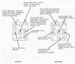 cougar fuse box wiring diagrams