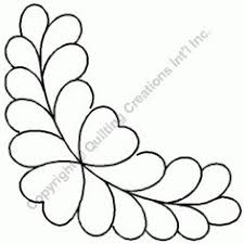 quilting wide borders | Category: Quilting Stencils | Product ... & Feather Border Quilting Stencil Adamdwight.com