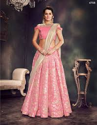 Designer Lehenga Catalogue Mahotsav 4707 4719 Party Wear Brocade Silk Designer Lehenga