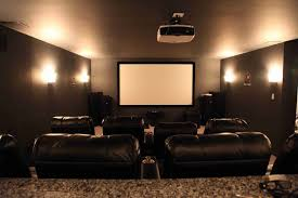 space home. Interior Design:Corner Bar Space Basement Home Theater Design Zebra Motif Brown Together With