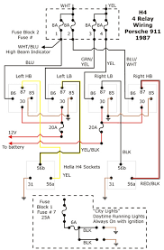 h4 bulb socket wiring question H4 Halogen Headlight Wiring Diagram Headlight Socket Wiring Diagram
