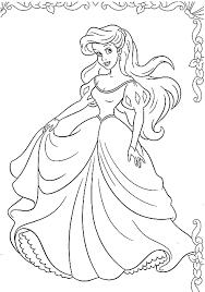 Disegni Da Colorare La Principessa Ariel Al Ballo Disegni Da