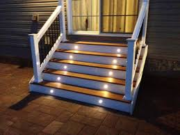 image of decorative outdoor stair lighting