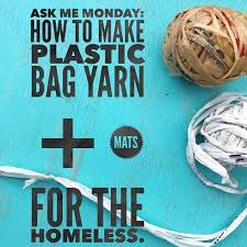 How To Make Plarn Plastic Bag Yarn For Charity Sleep Mats