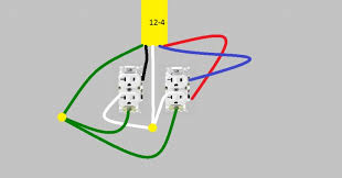 wiring a double duplex outlet wiring image wiring how to wire a double outlet diagram how auto wiring diagram on wiring a double duplex