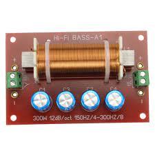 GHXAMP 200W hoparlör Subwoofer Crossover ses 1 yollu filtre frekans bölücü  bas 10