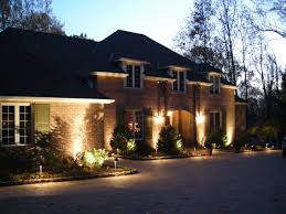 Outdoor   Low Voltage Led Landscape Lighting House - Exterior residential lighting