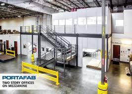 warehouse mezzanine modular office. Modular Buildings Warehouse Mezzanine Office O