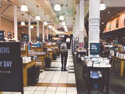 i visited the four floor barnes noble in manhattan s union square in the middle of a weekday