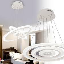 70w Dimmbar Led Hängelampe Deckenlampe Lüster Wohnzimmer