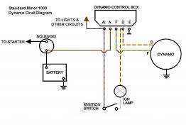 alternator and ammeter morris minor owners club the original dynamo control box can either be left connected as shown in the second diagram or disconnected and removed completely as shown in the final