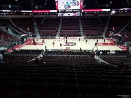 Seating Chart For Colonial Life Arena Columbia Sc Colonial Life Arena Section 105 South Carolina Basketball