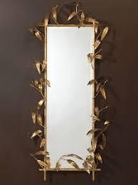 gold bamboo mirror. Bamboo Mirror Gold