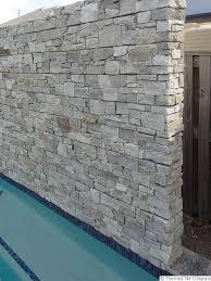 thredbo stacked stone wall cladding