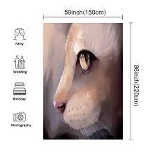 Bright Lights Big Kitty Poster Amazon Com Cat Lover Decor Stylish Backdrop Illustration