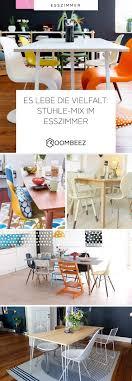 Stühle Mix Im Esszimmer Ideen Für Den Look Roombeez
