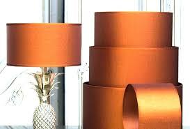 orange table lamp shade hot pink table lamp shades full size of awesome orange brushed copper