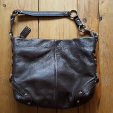 Coach Coffee Brown Leather