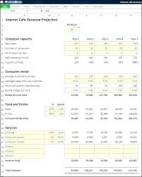 Profit Projections Template Month Profit And Loss Projection Excel Template Or Month