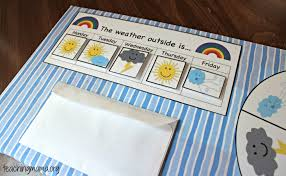 Weather Chart Free Printable Diy Preschool Weather Board With Free Printables