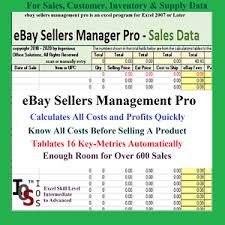 Inventario Excel Fuente De Inventario De Clientes De Ventas De Ebay