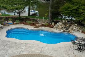 Pool: Top Notch Design Ideas Using White Metal Chaise Longue And ...