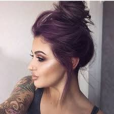 gany purple summer hair color for