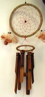 Bamboo Dream Catcher Dream catcher wind chimes ROXX 13