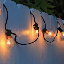 Strings G40 Globe String Lights With 25 Clear Bulbs 25ft Ul Listed Indoor Outdoor Light Decoration For Garden Patio Party