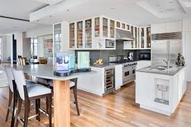 modern white kitchen wood floor. Perfect Kitchen 57 Beautiful Usual Laminate Deluxe White Kitchen With Modern Wood Floor  Kitchens Dark Cabinets W Brint Co Flooring Encouraging Accent Cabinet Grimes  And T