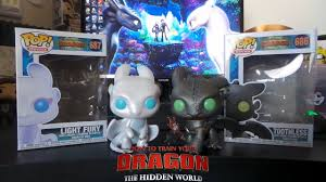Light Fury Funko Toothless And Light Fury Funko Pop Review