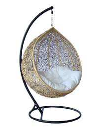 truly outdoor wicker swing chair y003ab
