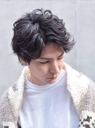ボーイッシュ メンズ ショート パーマcinq By Fifth 堀 雄大 435948
