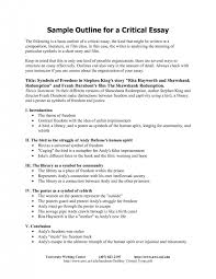 cover letter critical analytical essay format critical analytical  cover letter best photos of sample critical essay analysis outline formatcritical analytical essay format