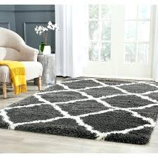 charcoal ivory trellis rug moroccan navy blue