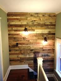 pallet wall pictures wood pallet wall ideas rustic pallet wall with decor lights for staircase wood pallet wall decor