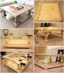 self installed barade coffee table