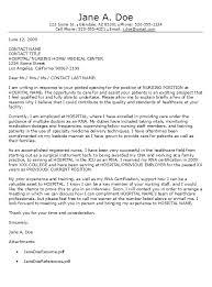 Cover Letter 48 Nursing Cover Letter Examples Nursing Cover Letter