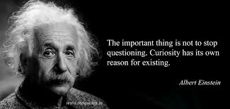 Quotes About Existing The Important Thing Is Not To Stop Questioning Curiosity Has Its