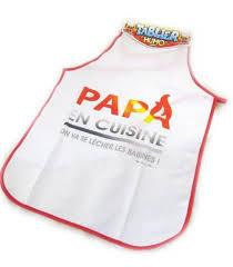Tablier Papa En Cuisine Achat Tabliers Originaux Pas Cher