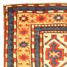 antique kazak rug bb4749