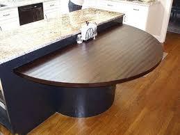 half round dining table hand walnut half circle table top on kitchen island dining table ikea