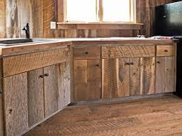 Attractive Design Rustic Wood Cabinets Unique Rustic Kitchen Cabinets.  Distressed Kitchen.