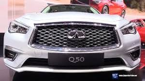 infiniti q50 exterior. 2018 infiniti q50 hybrid awd exterior interior walkaround debut 2017 geneva motor show